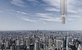 Surreal: Arquitectos planean construir un rascacielos flotante
