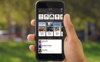 Snapchat habilita herramienta de búsqueda en su aplicación