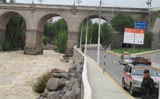 Arequipa: sistema de represas del río Chili empezó a rebosar