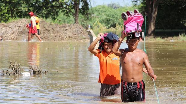 El Niño: Sunat alista beneficios para contribuyentes afectados