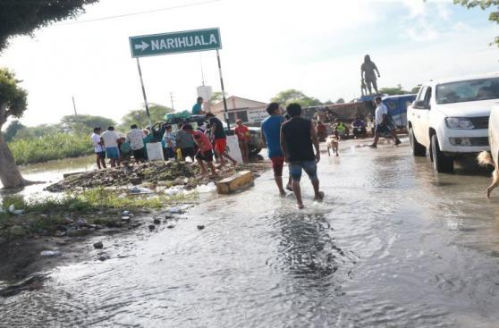 Piura: así viven los vecinos de Narihualá tras desborde [FOTOS]