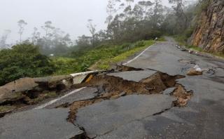 Cajamarca: quince caseríos aislados por lluvias en Cospán