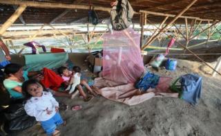 Piura: los testimonios de quienes se refugian en Narihualá