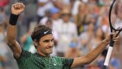 Roger Federer venció a Nadal y ganó el Masters de Miami