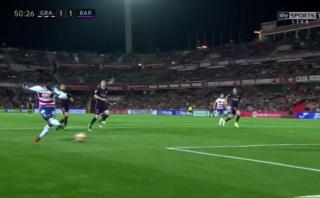 Barcelona y el eterno problema defensivo: así le empató Granada