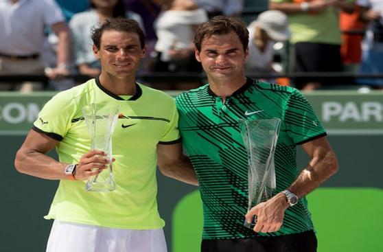 Federer aplastó a Nadal: postales del título del suizo en Miami