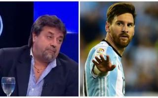 Messi: Caruso Lombardi lo atacó con esta fuerte declaración
