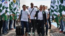 Chapecoense: jugadores de Nacional fueron recibidos como héroes