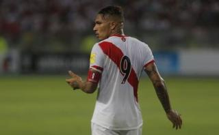 Selección: furia y bronca de Paolo Guerrero tras gol uruguayo