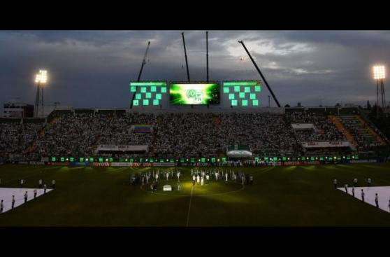 Chapecoense y Atlético Nacional volvieron a ser uno [FOTOS]