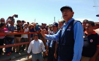 Áncash: estiman que en 15 días estará listo puente en Coishco