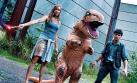 La hilarante carrera de un 'dinosaurio' practicando parkour