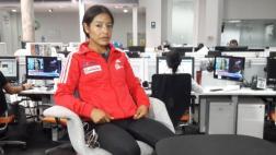 Inés Melchor: atleta pide a su federación nuevo entrenador