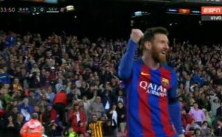 Lionel Messi: doblete ante el Sevilla en cinco minutos