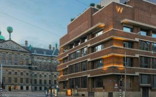 Este banco fue convertido en un hotel 5 estrellas en Ámsterdam