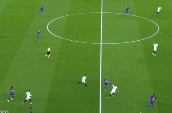 CUADROxCUADRO del golazo de chalaca que marcó Luis Suárez