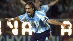 """Batistuta, ignorado por la """"mitad"""" del plantel de Argentina"""