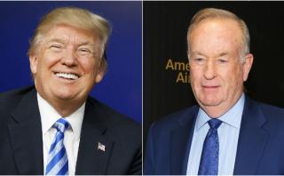 Trump defiende al presentador de Fox acusado de acoso sexual