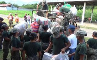 San Martín: toneladas de donaciones no pueden ser enviadas
