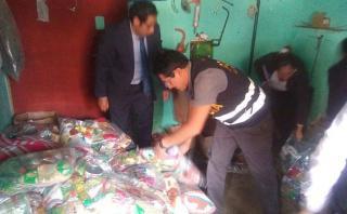 Áncash: fiscalía incauta donativos almacenados en una casa