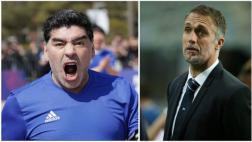 Selección argentina: Maradona se enfadó por desaire a Batistuta