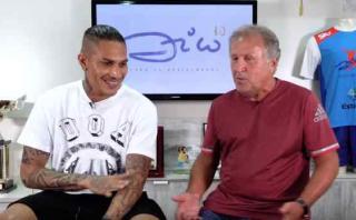 Zico le pide a Paolo Guerrero que clasifique al Mundial 2018