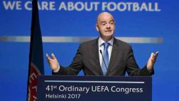 FIFA revela millonario sueldo de presidente Gianni Infantino