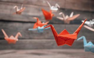 Descubre cómo incorporar el origami en la decoración de tu casa