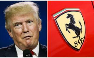 Ferrari de Donald Trump decepciona en una subasta en Florida