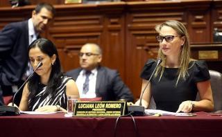 León sobre Heredia: Fue evasiva y faltó el respeto al Congreso