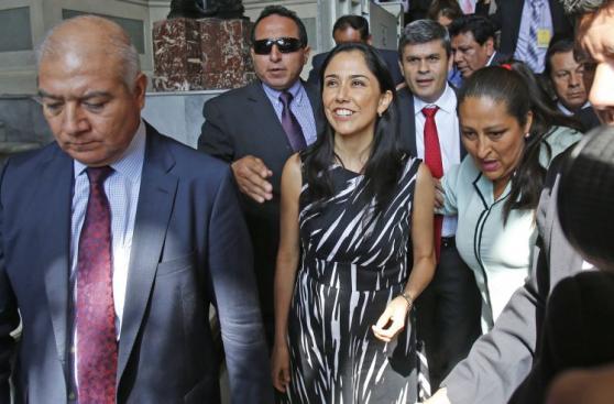 La polémica visita de Nadine Heredia a la Comisión de Defensa