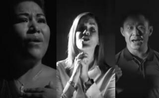 """Presentan canción: """"Una sola fuerza es el Perú"""" [VIDEO]"""