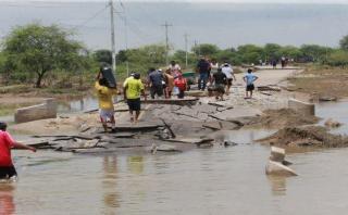 Amplían estado de emergencia en cuatro regiones por El Niño