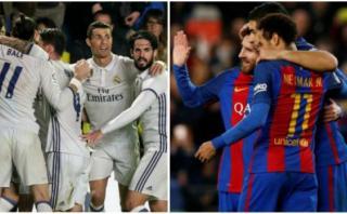 Real Madrid y Barcelona: el fixture que les queda en la Liga