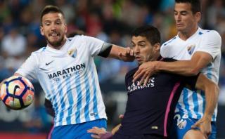 Barcelona perdió 2-0 con el Málaga y se alejó de Real Madrid