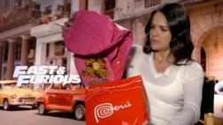 Michelle Rodríguez reacciona así tras recibir obsequio peruano