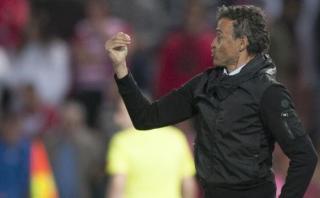 """Luis Enrique catalogó de """"injusta"""" la derrota del Barcelona"""
