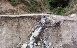 Áncash: ministra Pérez Tello verificó daños por El Niño costero