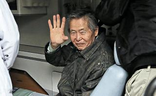 Alberto Fujimori retornó a prisión luego de exámenes médicos