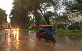 Reportan lluvias intensas en la sierra y selva central