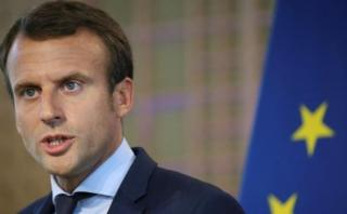 Macron quiere que gigantes de internet cooperen con gobiernos