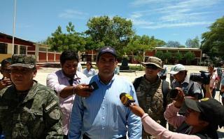"""Zavala en Piura:""""Estamos en fase de rehabilitación por El Niño"""""""