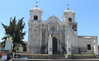 Arequipa: lluvias dejaron daños leves en casonas del centro