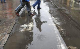 Marina: lluvias de otoño no generarán huaicos en Lima