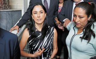 Nadine Heredia presenta recurso para invalidar sus agendas