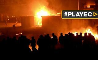Francia: Incendio reduce a cenizas campo de migrantes