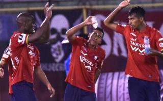 Wilstermann de Mosquera venció 2-1 a Tucumán por Libertadores