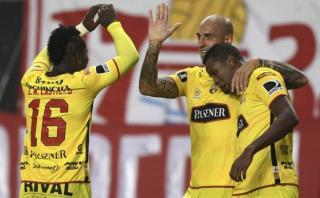 Barcelona venció de visita 2-0 a Estudiantes por Libertadores