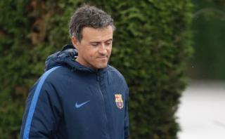 """Barcelona: """"tensa"""" reunión de Luis Enrique con los jugadores"""