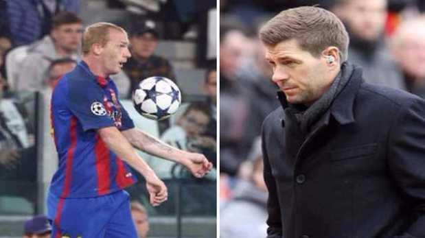 Steven Gerrard y la dura crítica hacia jugador del Barcelona